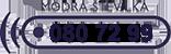 Modra številka (080 72 99)